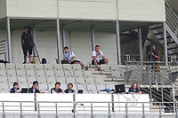 England U21 Manager, Aidy Boothroyd, watches the match from a high vantage point near the TV gantry during Japan Under-21 vs Canada Under-21, Tournoi Maurice Revello Football at Stade Parsemain on 3rd June 2018