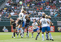 The Boston Breakers and LA Sol played to a 0-0 draw at Home Depot Center stadium in Carson, California on Sunday May 10, 2009.   .