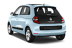 Car pictures of rear three quarter view of a 2015 Renault Twingo Intens 5 Door Hatchback 2WD Angular Rear
