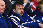 Forest manager, Dougie Freedman looks dejected - Blackpool vs. Nottingham Forest - Skybet Championship - Bloomfield Road - Blackpool - 14/02/2015 Pic Philip Oldham/Sportimage
