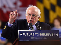 Bernie Sanders Baltimore campaign rally