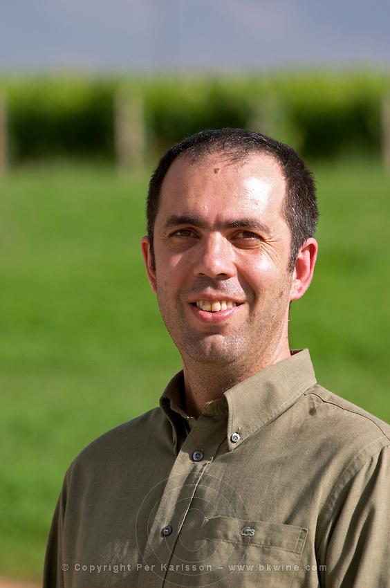 Antonio Kioseoglou, oenologist. Alpha Estate Winery, Amyndeon, Macedonia, Greece