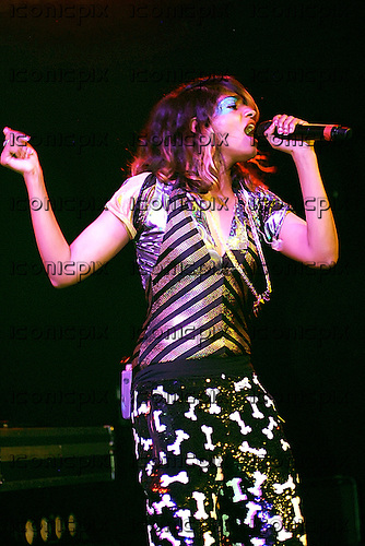M.I.A. (born Mathangi Arulpragasam) - performing live at the Institute of Contemporary Arts in London UK - 08 Dec 2007.  Photo credit: George Chin/IconicPix