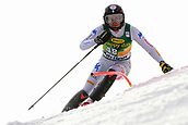 2nd February 2019, Maribor, Slovenia;  Roberta Midali of Italy in action during the Audi FIS Alpine Ski World Cup Women's Slalom Golden Fox on February 2, 2019 in Maribor, Slovenia