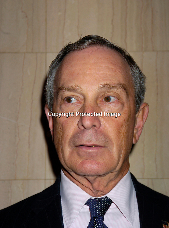 Mayor Michael Bloomberg..at the Hispanic Federation's 10th Annual Gala on March 11, 2004 at the Waldorf Astoria Hotel. ..Photo by Robin Platzer, Twin Images