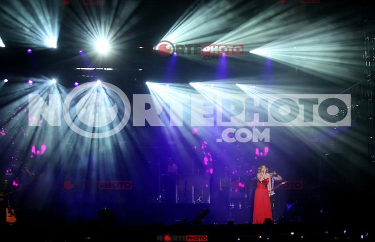 Yuridia durante su concierto en el Poliforum de Leon Guanajuato,20 octubre 2013.<br /> (*Foto:TiradorTercero/NortePhoto*)<br /> YURIDIA GAXIOLA