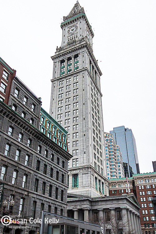 The Custom House, Boston, Massachusetts, USA