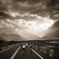 Cycling near Sun Moon Lake, Taiwan
