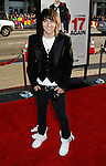 """HOLLYWOOD, CA. - April 14: Mitchel Musso arrives at the premiere of Warner Bros. """"17 Again"""" held at Grauman's Chinese Theatre on April 14, 2009 in Hollywood, California."""