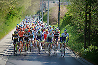 peloton up another slope<br /> <br /> Brabantse Pijl 2014