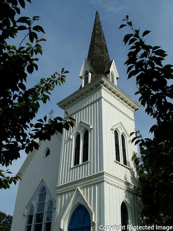 Church in Mendocino
