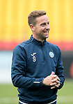FK Trakai v St Johnstone…05.07.17… Europa League 1st Qualifying Round 2nd Leg<br />St Johnstone training at the LFF Stadium in Vilnius, Lithuania….Pictured Steven MacLean during the training session<br />Picture by Graeme Hart.<br />Copyright Perthshire Picture Agency<br />Tel: 01738 623350  Mobile: 07990 594431