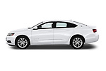 Car Driver side profile view of a 2019 Chevrolet Impala 1LT Door Sedan Side View