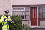 The scene of the shooting in Milltown estate in Ashbourne Co Meath where one man was shoot with a shoot gun after 6 rounds were discharged..Pic Fran Caffrey Newsfile ©