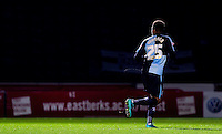 Jermaine Udumaga of Wycombe Wanderers comes on to make his debut during the Sky Bet League 2 match between Wycombe Wanderers and Crawley Town at Adams Park, High Wycombe, England on 28 December 2015. Photo by Andy Rowland / PRiME Media Images