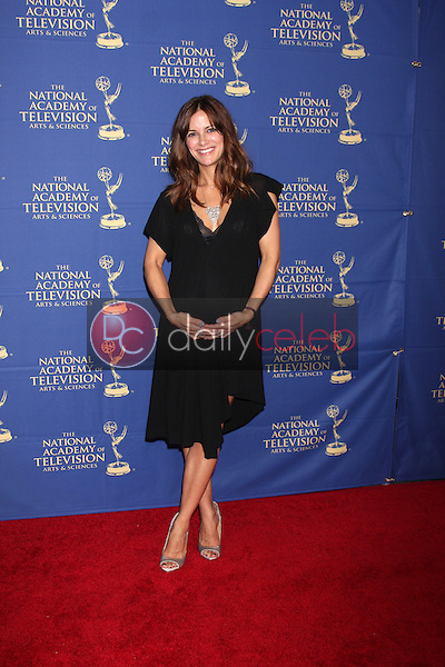 LOS ANGELES - JUN 20:  Rebecca Budig at the 2014 Creative Daytime Emmy Awards at the The Westin Bonaventure on June 20, 2014 in Los Angeles, CA