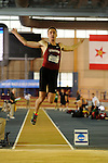 11 MAR 2016:  Harrison Williams of Stanford University competes in the Long Jump during the Heptathlon during the Division I Men's Indoor Track & Field Championship held at the Birmingham Crossplex in Birmingham, Al. Tom Ewart/NCAA Photos
