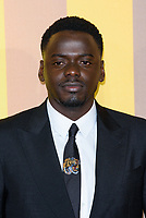 LONDON, ENGLAND - FEBRUARY 8: Daniel Kaluuya arrives at the 'Black Panther' European premiere at the Eventim Apollo, on February 8th, 2018 in London, England. <br /> CAP/JC<br /> &copy;JC/Capital Pictures