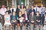 Little Emma Quirke who celebrated her christening with her parents Ger and Sandra Quirke, Cleeney, Killarney and her family in the Malton Hotel, Killarney on Saturday front row l-r: Ann Chute, Deirdre Chute,  Ger, Emma,Sandra Quirke, John Quirke and Mary Burke. Back row: Liam Chute, Marie Riordain, Ann Clifford, Fr Harrington, Olive Chute-Burke, Audrey Chute, Patrick Quirke, Brian Walsh, Martin Burke and Andrew Burke ....