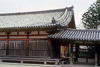 Nara Prefecture: Horyuji, East Minster. Photo '82.