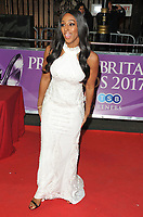 Alexandra Burke at the Pride of Britain Awards 2017, Grosvenor House Hotel, Park Lane, London, England, UK, on Monday 30 October 2017.<br /> CAP/CAN<br /> &copy;CAN/Capital Pictures /MediaPunch ***NORTH AND SOUTH AMERICAS ONLY***