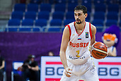 7th September 2017, Fenerbahce Arena, Istanbul, Turkey; FIBA Eurobasket Group D; Russia versus Great Britain; Guard Aleksei Shved #1 of Russia with a ball during the match