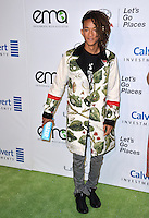 BURBANK, CA. October 22, 2016: Jaden Smith at the 26th Annual Environmental Media Awards at Warner Bros. Studios, Burbank.<br /> Picture: Paul Smith/Featureflash/SilverHub 0208 004 5359/ 07711 972644 Editors@silverhubmedia.com