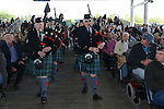 The Sierra Highlanders lead the processional during the 2015 Western Nevada College Commencement held at the Pony Express Pavilion in Carson City, Nev., on Monday, May 18, 2015.<br /> Photo by Tim Dunn