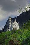 Neuschwanstein castle area.