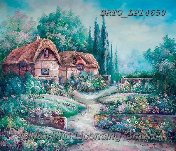 Alfredo, LANDSCAPES, LANDSCHAFTEN, PAISAJES, paintings+++++,BRTOLP14650,#l#, EVERYDAY ,puzzle,puzzles