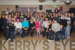 Key to the Door - Loretta Lawlor from Ballyheigue, seated centre having a ball with friends and family at her 21st birthday bash held in The Keg Bar, Causeway on Friday night..