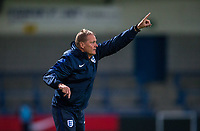 England U20 Head Coach Keith Downing during the International friendly match between England U20 and Netherlands U20 at New Bucks Head, Telford, England on 31 August 2017. Photo by Andy Rowland.