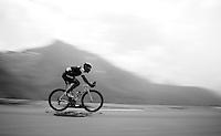 Markel Irizar (ESP/Trek Factory Racing) speeding down over the top of the Col du Tourmalet (HC/2115m/17.1km/7.3%)<br /> <br /> 2014 Tour de France<br /> stage 18: Pau - Hautacam (145km)