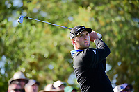 Jon Rahm (ESP) watches his tee shot on 7 during round 4 of the World Golf Championships, Dell Technologies Match Play, Austin Country Club, Austin, Texas, USA. 3/25/2017.<br /> Picture: Golffile | Ken Murray<br /> <br /> <br /> All photo usage must carry mandatory copyright credit (&copy; Golffile | Ken Murray)