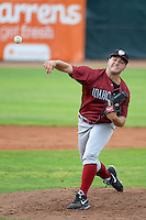 Idaho Falls Chukars starting pitcher Jake Junis #19 delivers a pitch to the plate against the Ogden Raptors at Lindquist Field on June 23, 2013 in Ogden, Utah. (Stephen Smith/Four Seam Images)