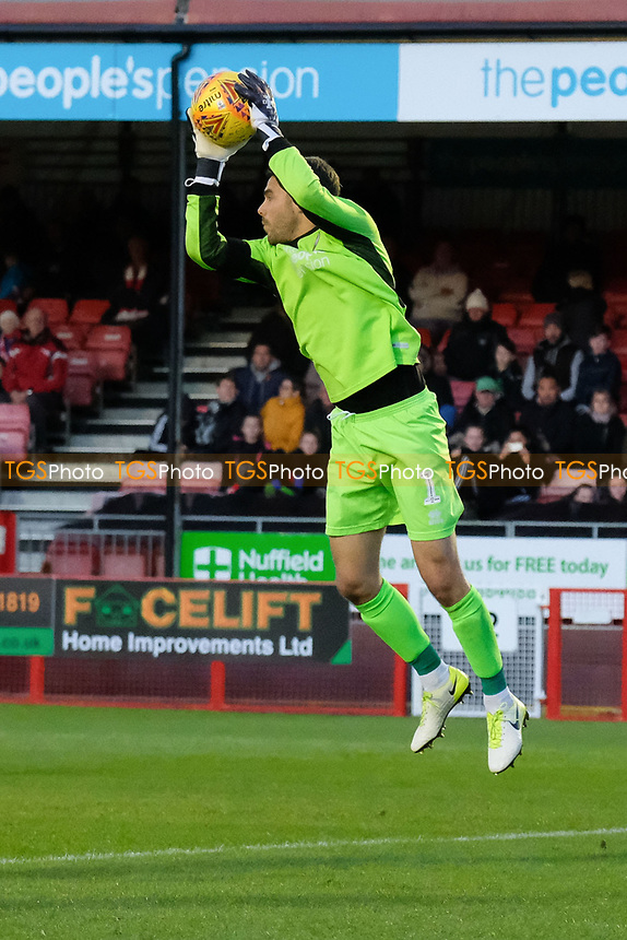 Glenn Morris of Crawley Town during Crawley Town vs MK Dons, Sky Bet EFL League 2 Football at Broadfield Stadium on 3rd November 2018