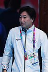 Hitoshi Nishigaki (JPN), <br /> AUGUST 21, 2018 - Fencing : Women's Individual Epee at Jakarta Convention Center Cendrawasih during the 2018 Jakarta Palembang Asian Games in Jakarta, Indonesia. <br /> (Photo by MATSUO.K/AFLO SPORT)