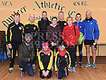 Members of Dunleer AC who took part in the Charity Mile run. Photo:Colin Bell/pressphotos.ie