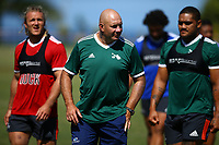 DURBAN, SOUTH AFRICA -Monday February 18th: Tom Coventry (Assistant Coach) of the Blues during the Blues Training at Northwood School Durban North, on February 18th, 2019 in Durban, South Africa. Photo by Steve Haag / stevehaagsports.com