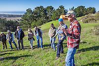 Richard King, California Native Grasslands pasture walk on rangeland management of grasses