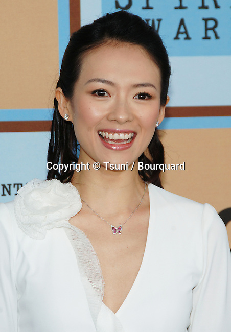 Ziyi Zhang arriving at the 21th Independent Spirit Awards on Santa Monica Beach  in Los Angeles March 4th, 2006.