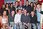 PARTY: Having a great evening at his 21st birthday in Kirbys Brogue Inn, Tralee, on Friday evening was Michael Counihan, Derrylea, Oakpark (seated third from right), along with family and friends..