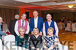 The 50th. Anniversary Fealsbridge Creamery Social was held last Friday night at the Devon Inn Hotel Templeglantine. L-R Siobhan & Padraig McElligott from Knocknagoshel. <br /> Carmel & Eamon Fitzgerald from Abbeyfeale . <br /> Breda Fitzell & Brian O' Connor fron Duagh.