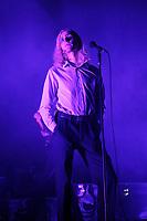 LONDON, ENGLAND - OCTOBER 5: Oscar 'Lulu' Pollock of 'Sundara Karma' performing at Brixton Academy on October 5, 2017 in London, England.<br /> CAP/MAR<br /> &copy;MAR/Capital Pictures