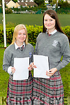 celebtraing 10 A's were Cadhla Piggot and Sarah O'Shea at Intermediate School Killorglin students in their Junior Certs results on Wednesday