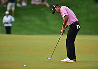 Bethesda, MD - July 2, 2017: Charles Howell III misses on a putt during the playoff round against Kyle Stanley at the Quicken Loans National Tournament at TPC Potomac at Avenel Farm in Bethesda, MD.  (Photo by Phillip Peters/Media Images International)