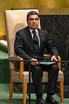 General Assembly Seventy-third session, 14th plenary meeting<br /> <br /> <br /> Turkmenistan<br /> H.E. Mr. Gurbanguly Berdimuhamedov<br /> President