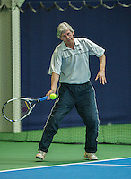 Hilversum, The Netherlands, March 10, 2016,  Tulip Tennis Center, NOVK, Hans Adema Van Scheltema<br /> Photo: Tennisimages/Henk Koster