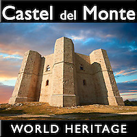 World Heritage Site Pictures  - Castel Del Monte, Puglia, Italy