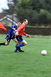 Action from Northside Blues  in the Lourdes Stadium.Pic Fran Caffrey Newsfile